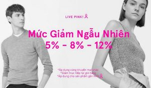 "Accompany with the Campaign ""Live Pink"" – for the Pink Life"