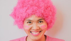 """Super Pink Leader"" of BCNV – Think Pink, Live Pink."
