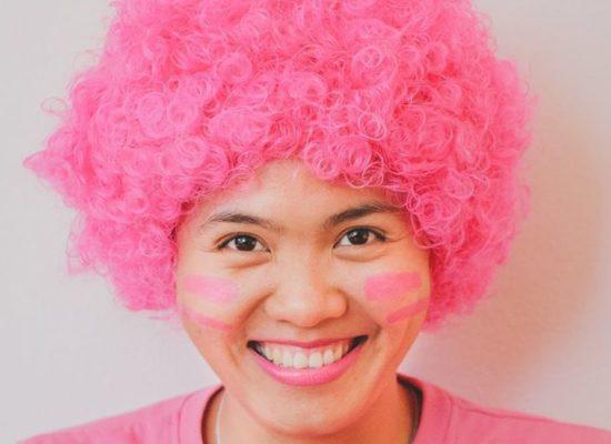 """""""Super Pink Leader"""" of BCNV – Think Pink, Live Pink."""