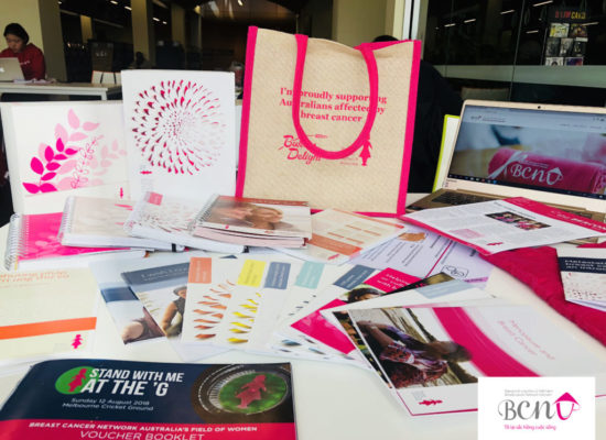 The visiting to Breast Cancer Network Australia Office