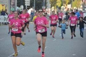 Tôi và Nơ hồng chinh phục cự ly bán marathon