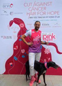 Dmytro Guchko – Đôi bàn tay tạo kiểu tóc Cristiano Ronaldo, đã gây quỹ 200.000 USD cho một cậu bé bị ung thư