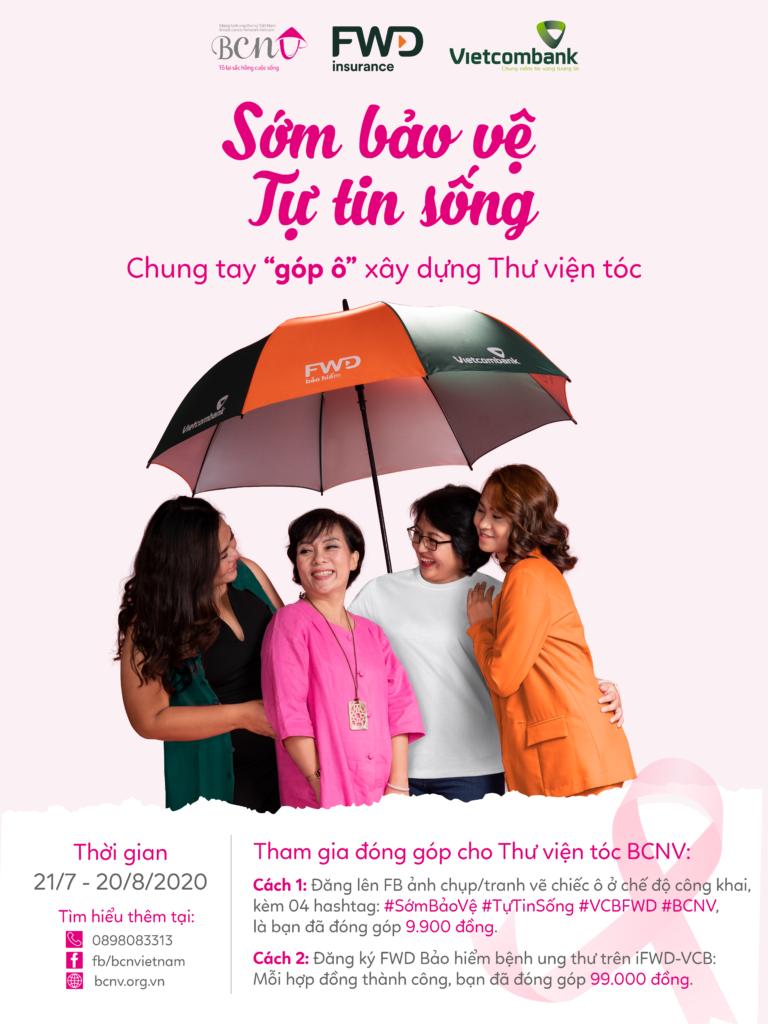 Poster chiến dịch Sớm Bảo Vệ Tự Tin Sống BCNV
