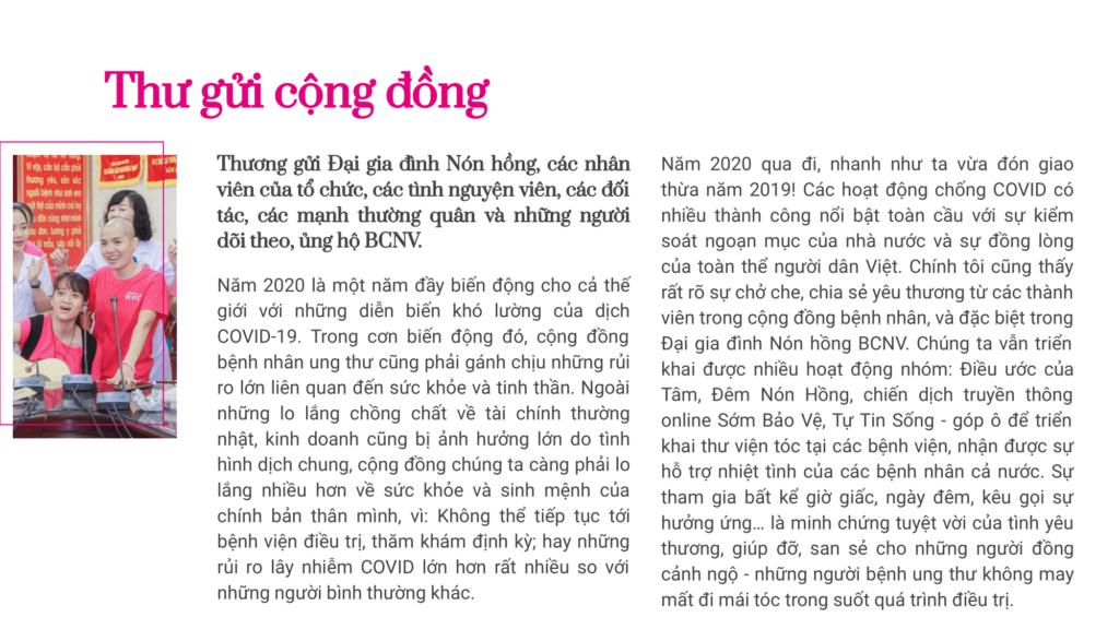 Báo cáo thường niên BCNV 06