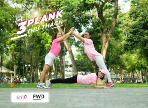 Thử Thách 3Plank – Góp quỹ hỗ trợ bệnh nhân ung thư & tim mạch