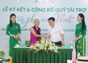 """Bệnh viện Thẩm mỹ Thu Cúc cùng BCNV thành lập quỹ """"Vì phụ nữ Việt"""""""